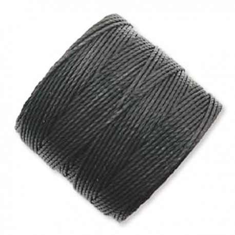S-Lon Nylon Cord Black