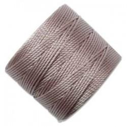 S-Lon Bead Cord Silver