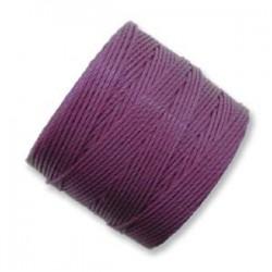 S-Lon Bead Cord Plum