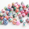 10mm Round Polymer Clay Beads