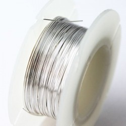 26 Gauge (0.4mm) Half Hard Sterling Silver Wire