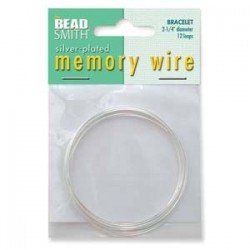 Memory Wire - Bracelet Silver Plated