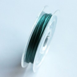 10m Beading Wire 0.38mm - Teal Green