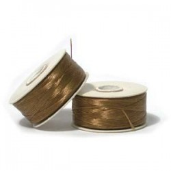 Nymo Size D Nylon Beading Thread - Golden