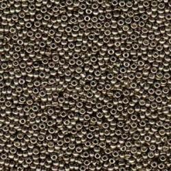 Miyuki Duracoat Seed Beads 11/0 - Galvanised Pewter