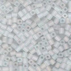 Miyuki Cube Beads 4mm - Transparent Frosted Rainbow - 10g