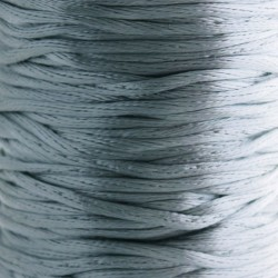 2mm Satin Rattail Cord - Grey