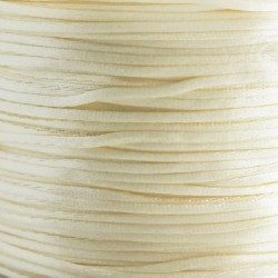 1mm Satin Cord - Cream