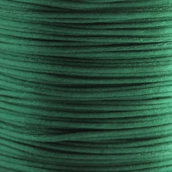 1mm Satin Cord - Dark Green