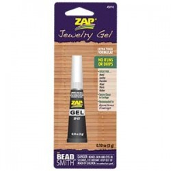 Zap Gel Jewellery Super Glue - 3g