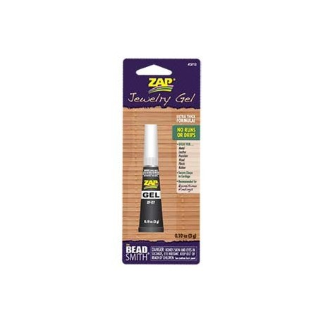 Zap Gel Jewellery Super Glue - 3g