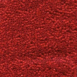 Delica 11/0 (DB0723) Miyuki Seed Beads - Opaque Dark Cranberry