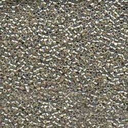 Delica 11/0 (DB1831) Miyuki Seed Beads - Duracoat Galvanised Silver
