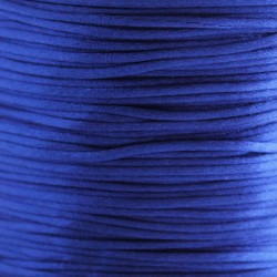 1mm Satin Cord - Blue