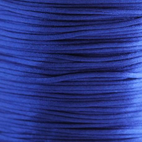 1mm Satin Cord - Blue