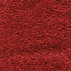 Delica 15/0 (DBS723) Miyuki Seed Beads - Opaque Dark Cranberry
