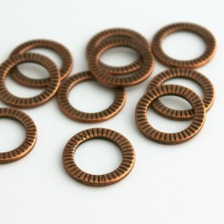 Connector Rings - Copper Tone