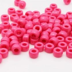 Pony Beads - Deep Pink