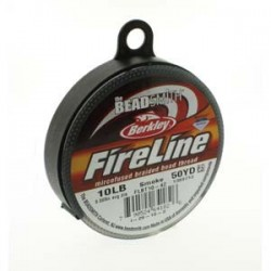 Fireline Braided Beading Thread 10lb - Smoke Grey