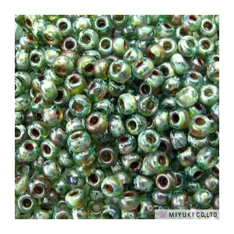 Miyuki Seed Beads 11/0 - Picasso Olivine