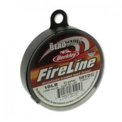 Fireline Braided Beading Thread 10lb - Crystal - 50yd