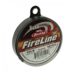 Fireline Braided Beading Thread 10lb - Crystal