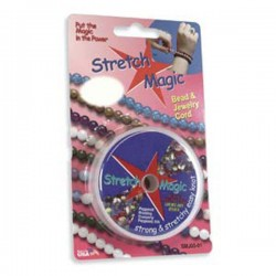 Stretch Magic 0.7mm Clear Beading Elastic