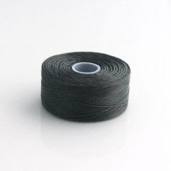 S-Lon D Bead Thread - Charcoal Grey