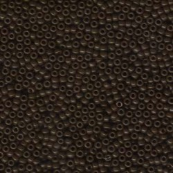 Miyuki Seed Beads 11/0 - Opaque Brown (9409)