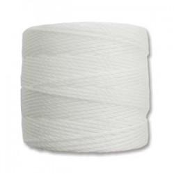 S-Lon Bead Cord White
