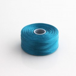 S-Lon D Bead Thread - Capri Blue