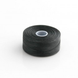 S-Lon D Bead Thread - Black