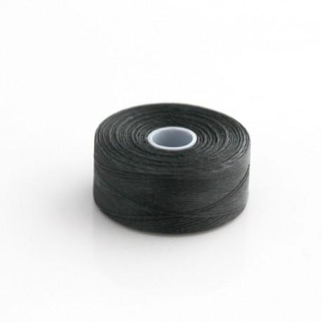 S-Lon D Bead Thread - Black