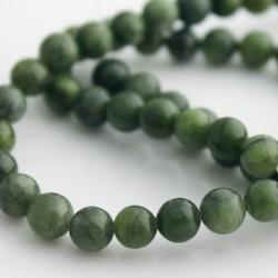 6mm Round Jade Beads