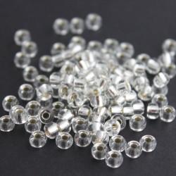Miyuki Seed Beads 6/0 - Silver Lined Crystal