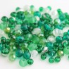 Green Bead Mix - 4-6mm Glass
