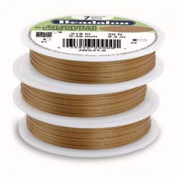 Beadalon 7 Strand Satin Copper 0.38mm Beading Wire