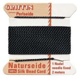 Griffin Silk Cord No.4 (0.6mm) - Black