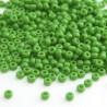 Miyuki Seed Beads 8/0 - Opaque Green (411)