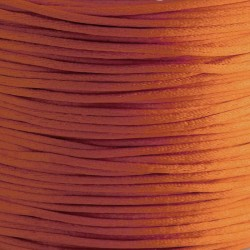1mm Satin Cord - Orange