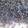 Matsuno 11/0 Seed Beads - Rainbow Purple Silver Lined S/H