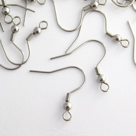 Stainless Steel 21mm Earwires
