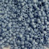Delica 11/0 (DB0266) Miyuki Seed Beads - Opaque Denim Blue Lustre