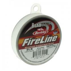 Fireline Braided Beading Thread 8lb - Crystal - 50yd