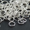 7mm Spilt Rings - Silver Plated