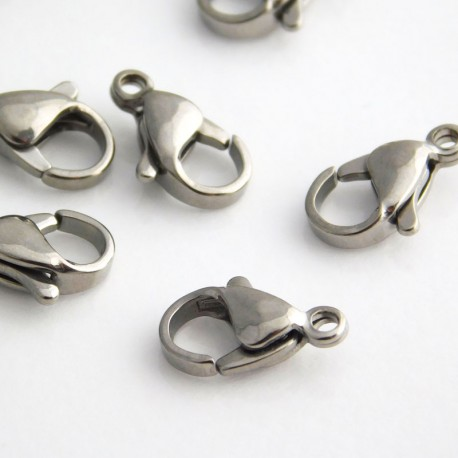 Lobster Clasp 12mm - Stainless Steel