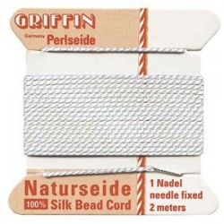 Griffin Silk Cord No.3 (0.5mm) - White
