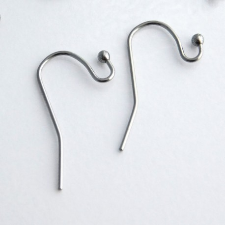 22mm Earwires - Stainless Steel