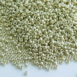 Miyuki Seed Beads 15/0 - Duracoat Galvanised Silver (4201)