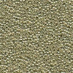 Miyuki Duracoat Seed Beads 8/0 - Galvanised Silver